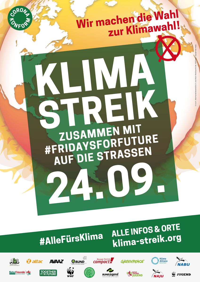 Globaler Klimastreik am 24.9.2021